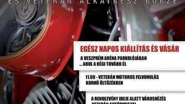 Veterán motoros találkozó és veterán alkatrész börze - Veszprém, 2016.06.04.