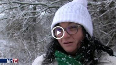 A hódokkal dolgoznak össze a közmunkások - Porván
