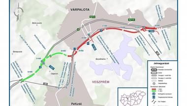 Orbán Viktor miniszterelnök adta át a 8-as főút várpalotai elkerülő szakaszát