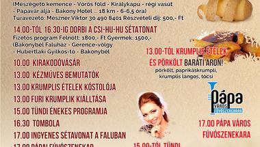 Pityóka Party - 2017. szeptember 30., Bakonybél