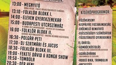 IX. Gombócfesztivál - Bakonynána 2017. augusztus 12., szombat