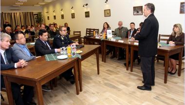 Ülésezett a Zirci Járási Közbiztonsági Egyeztető Fórum