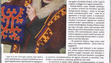 """Ruttkay-Miklián Eszter: """"Ha nem fogadnak be a szibériai hantik, éhen halsz"""""""