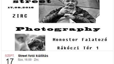 Street fotó kiállítás