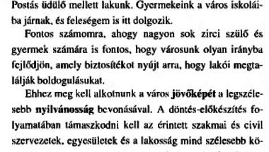 Hátraarc - az önkormányzati választások negyedszázada Zircen. 5. rész - 1998