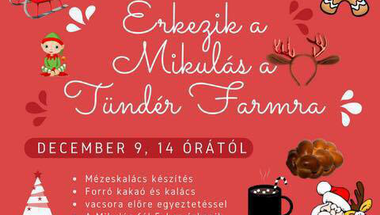 Télapó a Tündér Farmon - 2017. december 9., szombat