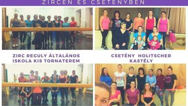 Aerobic - Zircen és Csetényben