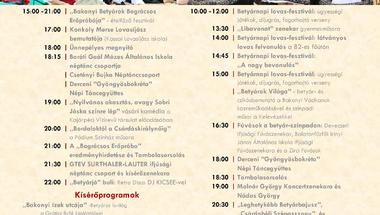 XIX. Bakonyi Betyárnapok - Országos Betyártalálkozó