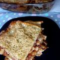 Zöldbabos cukkinis nyári lasagne
