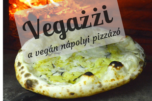 Nápolyi vegán pizza Budapesten