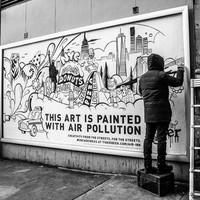 A légszennyezés is lehet szép