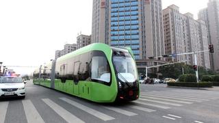 A villamos-busz lehet az új sztár