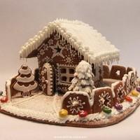 Karácsonyi mézeskalács ház tervek