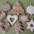 Karácsonyi mézeskalács minták