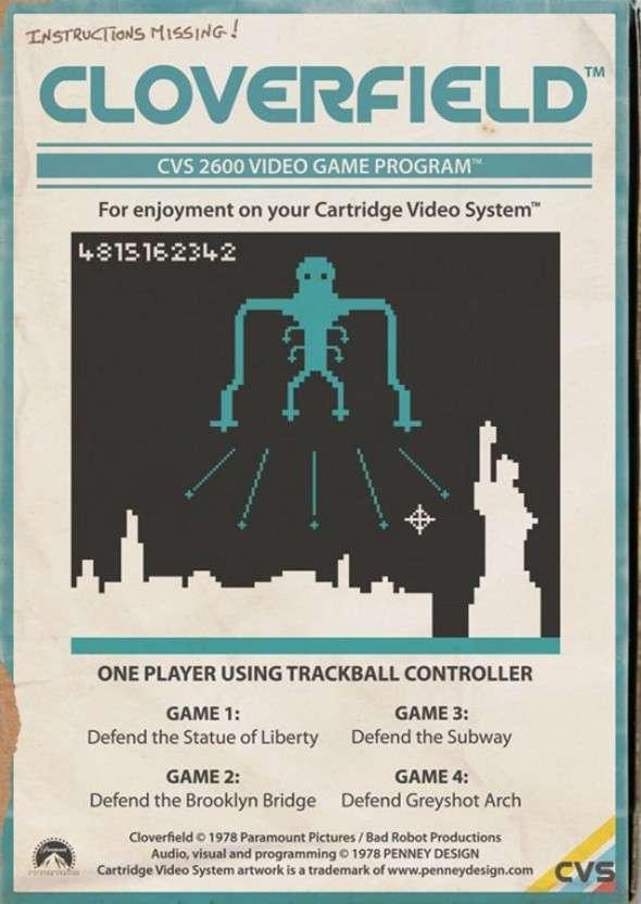 Atari 2600 Cloverfield