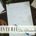 Interjú: Tia Mahallt