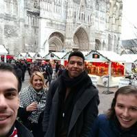 Csendesen telt a november vége Amiensben.Néha ilyen is kell, persze nem túl sok.