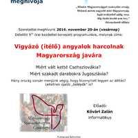 Vigyázó (ítélő) angyalok harcolnak Magyarország javára - ingyenes előadás