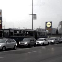 Hatalmas a forgalom Kőbányán a BKV sztrájk miatt