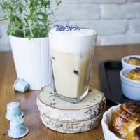 Levander on Ice - Levendulás Jeges Chai Latte
