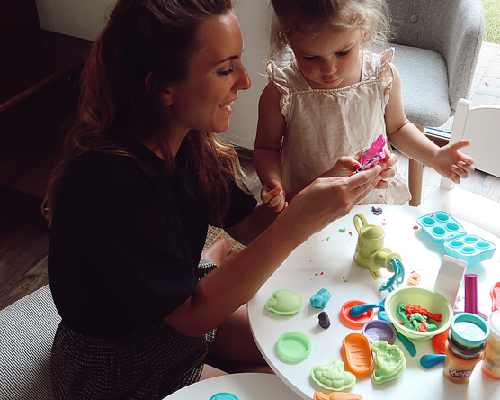 Playtime with Play-Doh