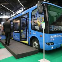 Budapesttől Párizsig elektromos busszal