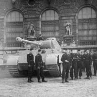 Panther Ausf. D Budapesten?