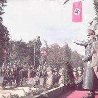 1939. október 5. csütörtök - Német győzelmi parádé Varsóban