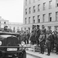 1939. szeptember 22. péntek - Német-szovjet győzelmi parádé Breszt-Litovszkban
