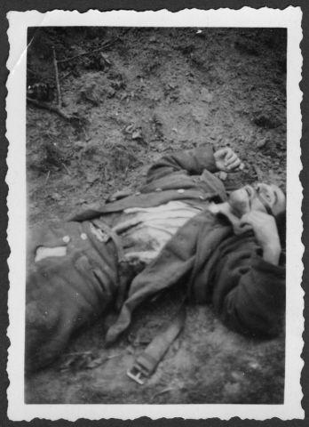 Halott lengyel katona