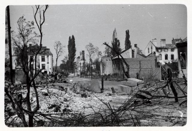 Tájkép bombázás után