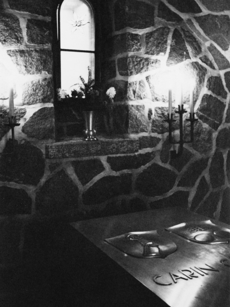 Carin Göring szarkofágja a kriptában