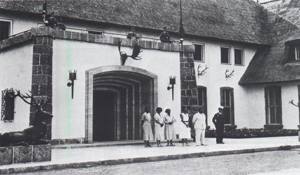 Carinhall jobb szárnyának bejárata