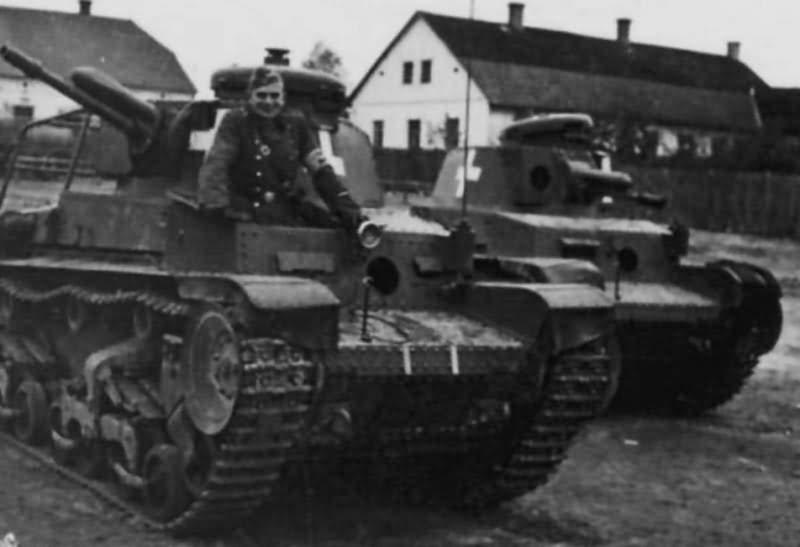 Kilőtt Panzer 35(t)-k