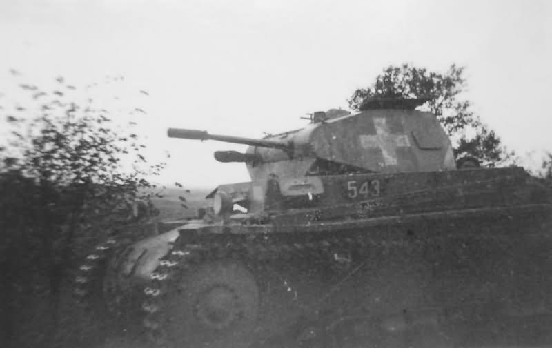 Panzerkampfwagen II Ausf. b
