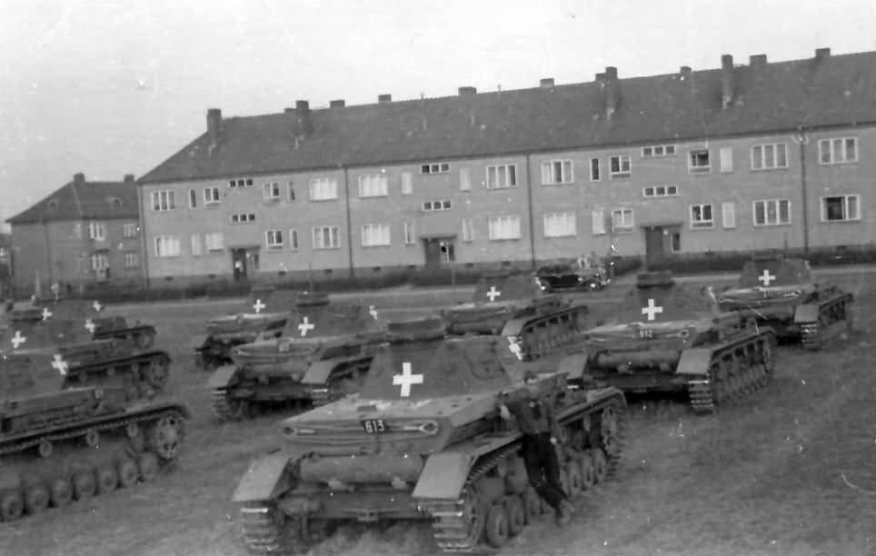 Panzerkampfwagen IV Ausf. C-k a hadjárat előtt