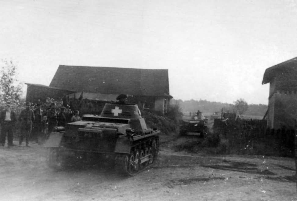 Panzerkampfwagen I Ausf.B harckocsik