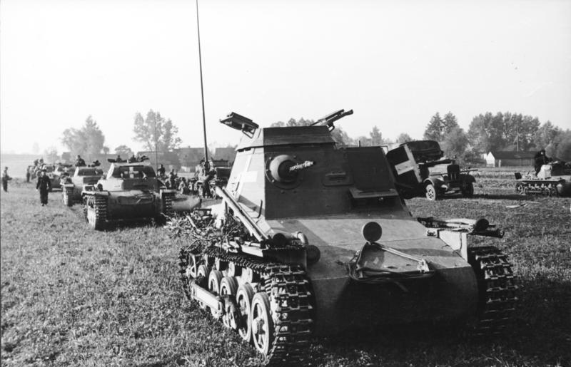Kleine Panzerbefehlswagen I (Sd.Kfz.265) parancsnoki harckocsi
