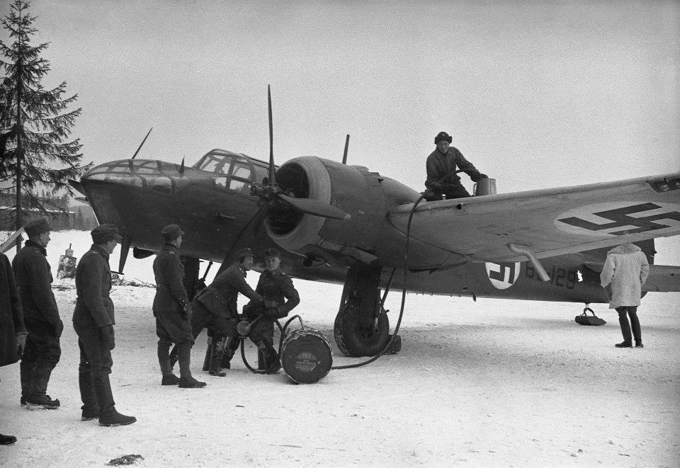 Finn Bristol Blenheim könnyűbombázó