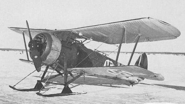 Finn Bristol Bulldog Mk. IVA vadászgép