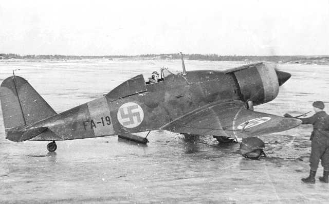 Finn Fiat G.50 vadászgép