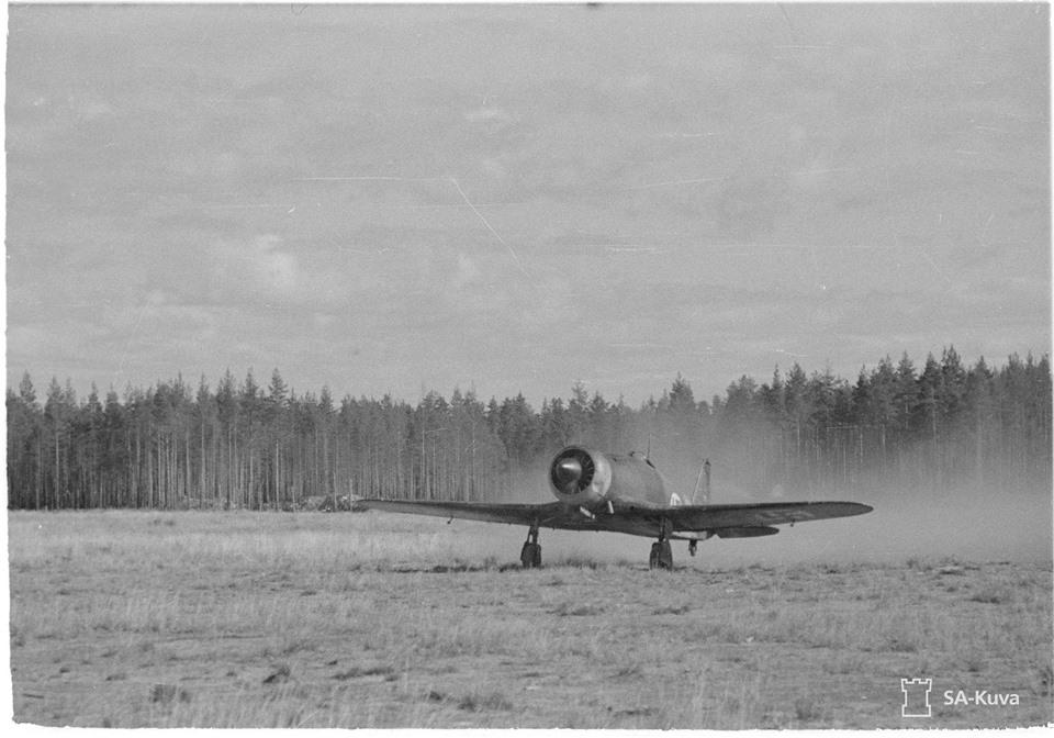 Finn Fiat G.50 bevetésre indul