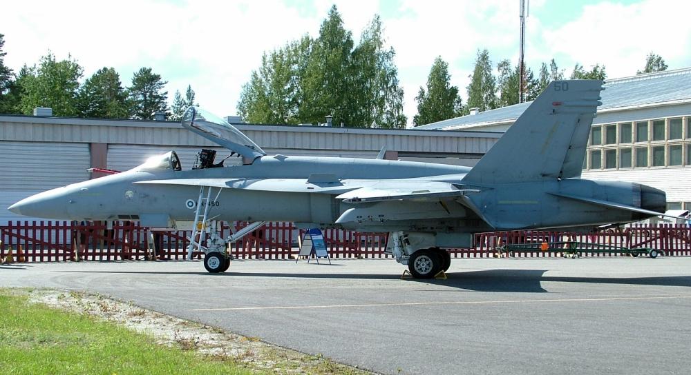 Finn F/A-18 vadászgép