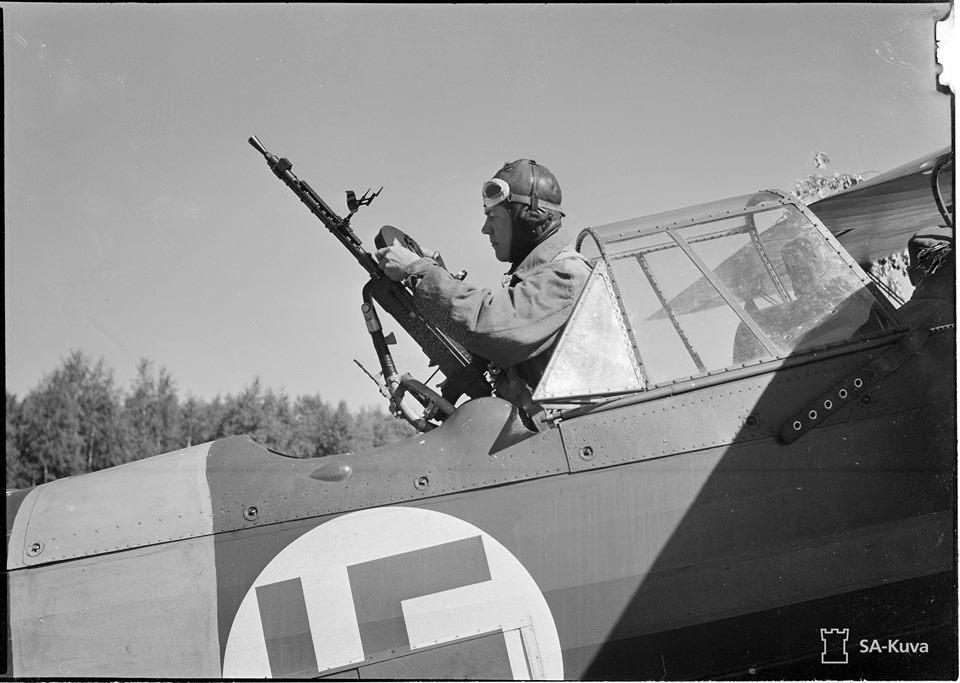 Finn Fokker C.X lövésze