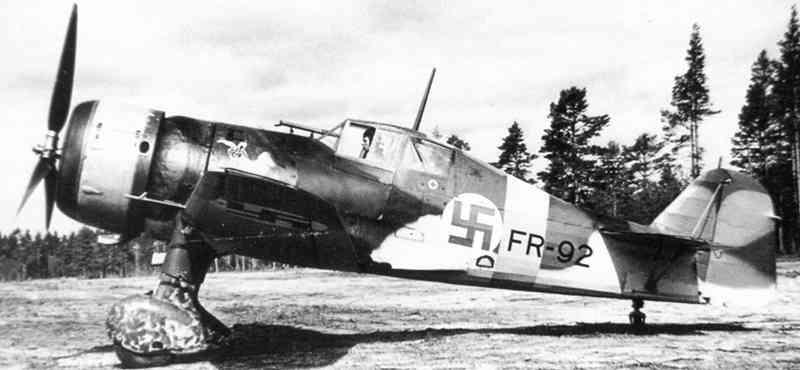 Finn Fokker D.XXI vadászgép