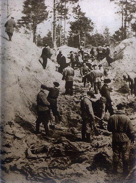 A holttestek exhumálása