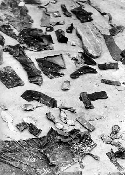 Az áldozatoknál talált személyes tárgyak