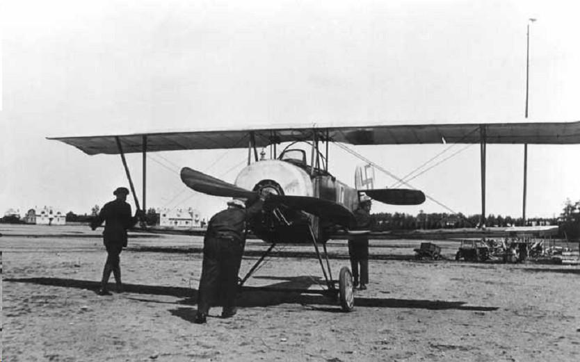 Francia gyártmányú Nieuport 10 vadászgép