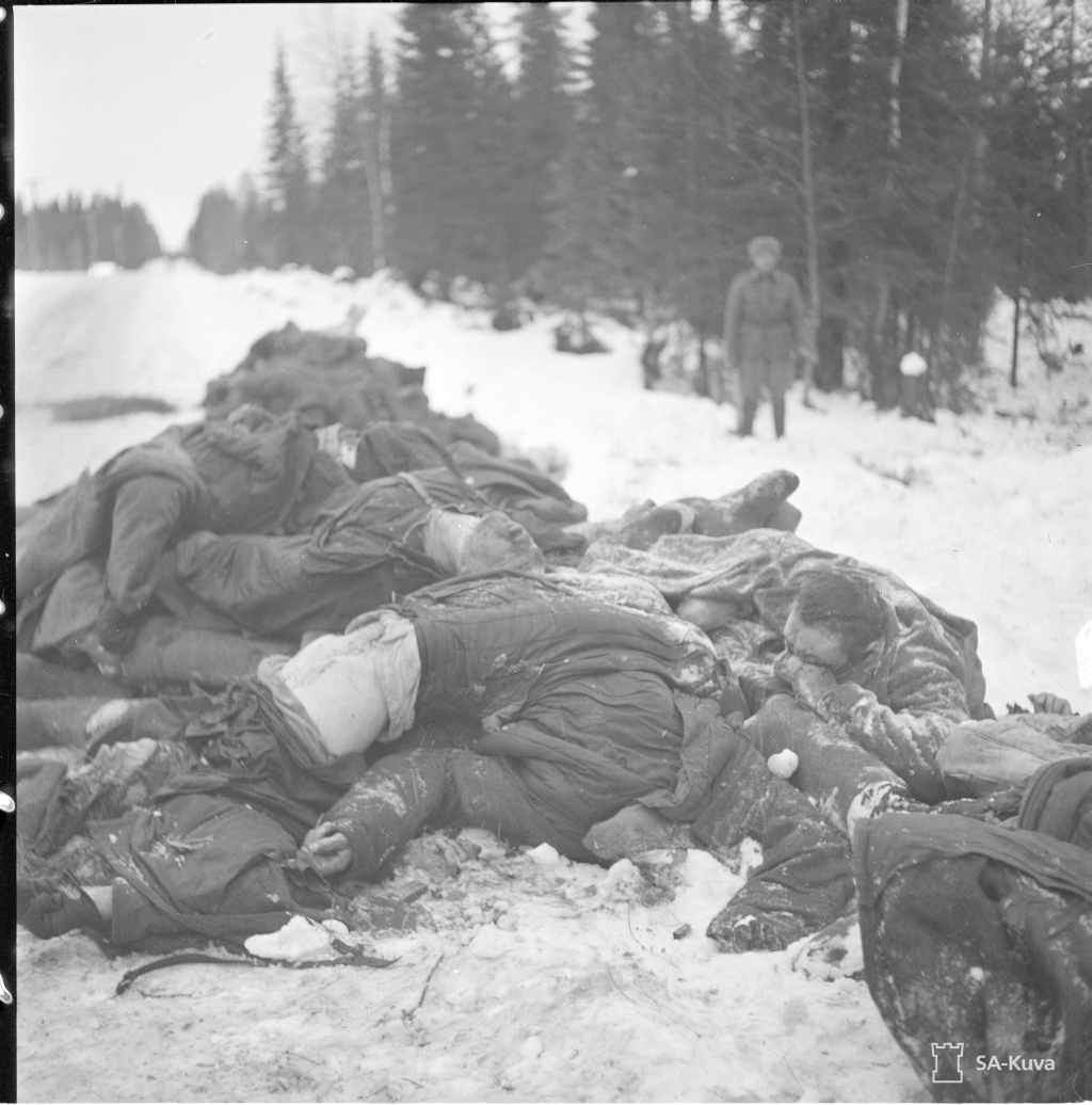 Halott szovjet katonák.