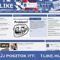 Az 1like.blog.hu-n nem lesz több poszt!
